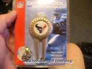 Houston Texans NFL Divot Tool & Magnetic Marker NEW!