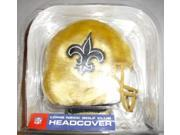 Helmet Longneck Golf Headcover NFL New Orleans Saints