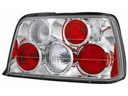 IPCW Tail Lamp CWT-202C2 92-99 BMW E36 / 3 Series Crystal Clear