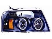 IPCW Projector Headlight CWS-538B2 04-08 Ford F150 / F250 LD Black
