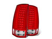 CG CHEVY TAHOE / SUBURBAN 07-UP LED G3 TAILLIGHT RED/CLEAR 03-CD07TLEDG3 PAIR