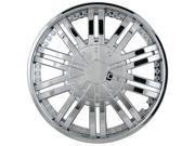 Pilot 10 Spoke Vent Chrome 14' Wheel Cover WH529-14C-BX