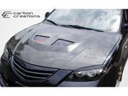 Carbon Creations 2004-2009 Mazda 3 4DR EVO Hood 104159