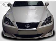 Couture 2009-2010 Lexus IS Series J-Spec Front Lip Spoiler 106941