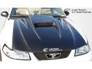 Carbon Creations 1999-2004 Ford Mustang Spyder 3 Hood 102722