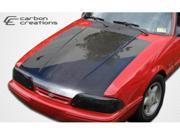 Carbon Creations 1987-1993 Ford Mustang OEM Hood 103012