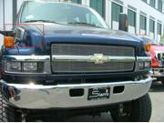 T-REX 2004-2010 Chevrolet Kodiak Billet Side Vent Insert (10 Bars) POLISHED 20084