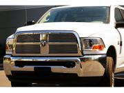 T-REX 2010-2012 Dodge Ram PU 2500 / 3500 Billet Grille Overlay and Insert- 4 Pc POLISHED 21451