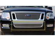 T-REX 2006-2010 Ford Explorer Sport Trac Bumper Billet Grille Insert POLISHED 25662