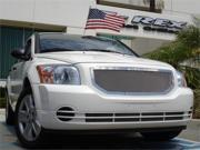 T-REX 2007-2010 Dodge Caliber (Except SRT) Upper Class Polished Stainless Mesh Grille - 1 Pc POLISHED 54477