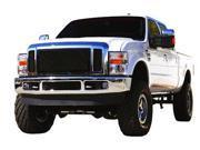 T-REX 2008-2010 Ford Super Duty (All Models) Upper Class Mesh Grille - All Black - 3 Pc BLACK 51563