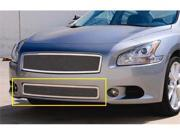 T-REX 2009-2012 Nissan Maxima Upper Class Polished Stainless Bumper Mesh Grille POLISHED 55758