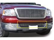 T-REX 2004-2005 Ford F150 (All Models) Bumper Billet Grille Insert (10 Bars) POLISHED 25552