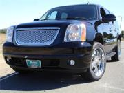 T-REX 2007-2012 GMC Yukon Denali Style Stainless Steel Grille with Round Holes (Without GMC logo) POLISHED 54170