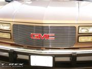 T-REX 1994-1998 GMC PU, 94-99 Suburban/Yukon Billet Grille Insert - 30 Bars Flush Mount Style POLISHED 20150
