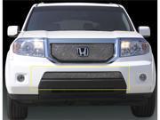T-REX 2009-2010 Honda Pilot Sport Series Formed Mesh Bumper - Triple Chrome Plated CHROME 45705