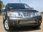 T-REX 2008-2010 Nissan Armada Upper Class Polished Stainless Bumper Mesh Grille POLISHED 55782