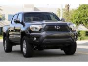 T-REX 2012-2012 Toyota Tacoma Upper Class Mesh Grille Overlay/Bolt On - 4 Pc - All Black BLACK 51940