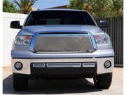 T-REX 2010-2012 Toyota Tundra Upper Class Polished Stainless Mesh Grille - With Formed Mesh Center - Insert (No Logo) POLISHED 54963