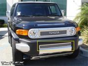 T-REX 2007-2012 Toyota FJ Cruiser Upper Class Polished Stainless Bumper Mesh Grille POLISHED 55932