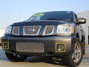 T-REX 2004-2012 Nissan Titan (04-07 Armada) SS Fog Lamp Grilles - 2 Fog (with out factory fogs) POLISHED 55781