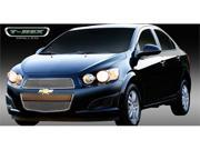 T-REX 2012-2012 Chevrolet Sonic Billet Grille Overlay - 2 Pc POLISHED 21132