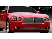 T-REX 2011-2011 Dodge Charger Billet Grille Overlay/Bolt On - 4 Pc POLISHED 21442