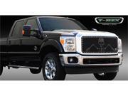 "T-REX 2011-2012 Ford Super Duty URBAN ASSAULT ""GRUNT"" - Studded Main Grille w/ Soldier - Black OPS Flat Black - 1 Pc FLAT BLACK 7115466"