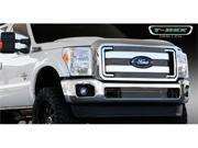 T-REX 2011-2012 Ford Super Duty Billet Grille Overlay/Bolt On - 4 Pc POLISHED 21546