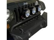 Rugged Ridge 11232.20 Bumper Mounted Light Bar, Textured Black, 07-14 Jeep Wrangler JK