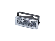 "Pilot 5"" x 2"" Rectangular Driving Light w/ 7 Color L.E.D. Accent Light PL-1058M"