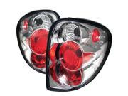 Spyder Auto Dodge Caravan/Grand Caravan 01-07 / Chrysler Town & Country 01-07 / Chrysler Voyager 00-03 Euro Tail Lights - Chrome ALT-YD-DC01-C 9SIA4BS4UG3832