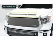 T-Rex T1 Series Grille, Hood, Overlay, 1 Pc, Black Powder Coated 119640