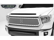 T-Rex X-Metal Series, Formed Mesh, Main Grille, Replacement, 1 Pc, Polished Stainless Steel 6719640