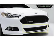T-Rex Upper Class, Formed Mesh Grille, Bumper, Replacement, 1 Pc, Black Powdercoated Mild Steel 52531