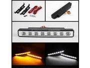 Spyder Auto DRL 0.5W LED w/ Amber Signal Lights - Chrome 5014924