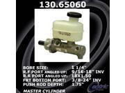 Centric Brake Master Cylinder 130.65060