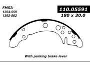 Centric Drum Brake Shoe 111.05591