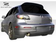 2004-2009 Mazda3 HB Duraflex Trinity Rear Bumper 105562