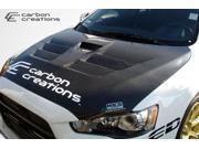 2008-2012 Mitsubishi Evolution X Duraflex GT Concept Hood 104642