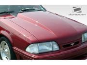 1987-1993 Ford Mustang Duraflex Cowl Hood 103014
