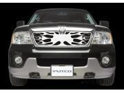 Putco Flaming Inferno Stainless Steel Grilles 89117