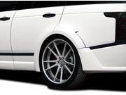 2013-2014 Land Rover Range Rover AF-1 Wide Body Rear Fender Flares ( PUR-RIM ) - 4 Piece