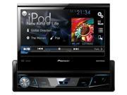 "Pioneer Single DIN DVD Receiver with 7"" Flip-out Display Bluetooth Siri Eyes Free Android AVHX6700DVD"