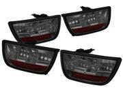 IPCW LEDT-324S2 2010-2013 Chevy Camaro LED Tail Lamps Platinum Smoke (4ps/set)