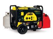 Champion Fulfillment 3150/3600 Watt LPG/ 3500/4000 Watt Gasoline Dual Fuel Generator 76533