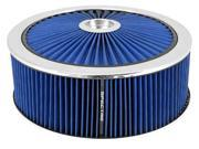 Spectre Performance 47646 Extraflow HPR Air Cleaner 14 In. x 5 In. - Blue 9SIA08C4RB2445