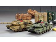 2 PCS M1A2 Abrams Radio Controlled Infrared COMBAT IR RC Battle Tank