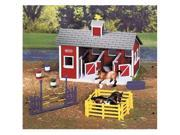 Breyer Stablemates Red Stable
