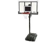 Lifetime 71524 Portable Basketball Hoop with 54 Inch Shatter Guard Backboard